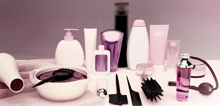 foto de produtos de salão de beleza